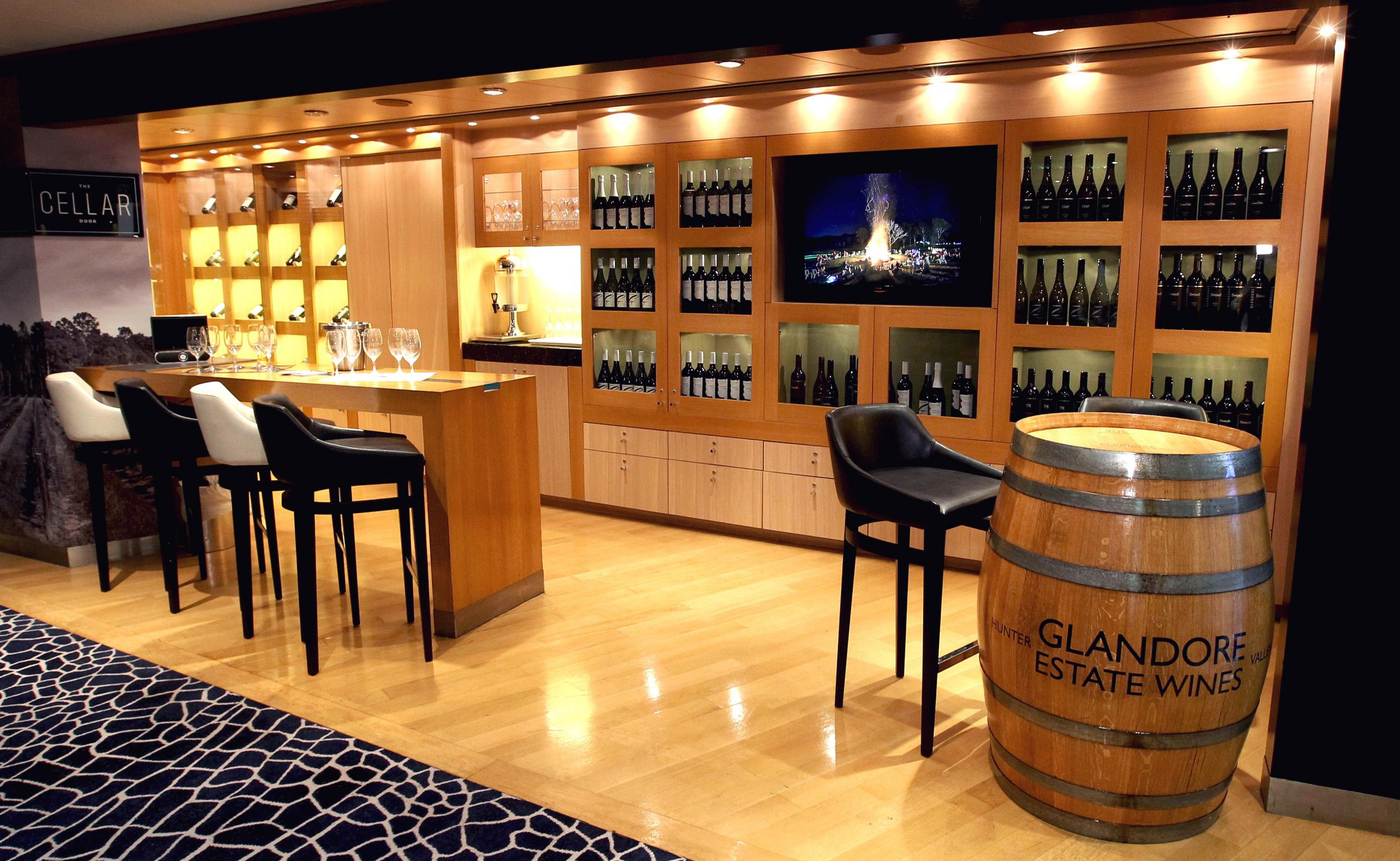 Pu0026O Cruises partner with Glandore Estate Wines to open a new on board Cellar Door u2013 AU Abroad & Pu0026O Cruises partner with Glandore Estate Wines to open a new on ...