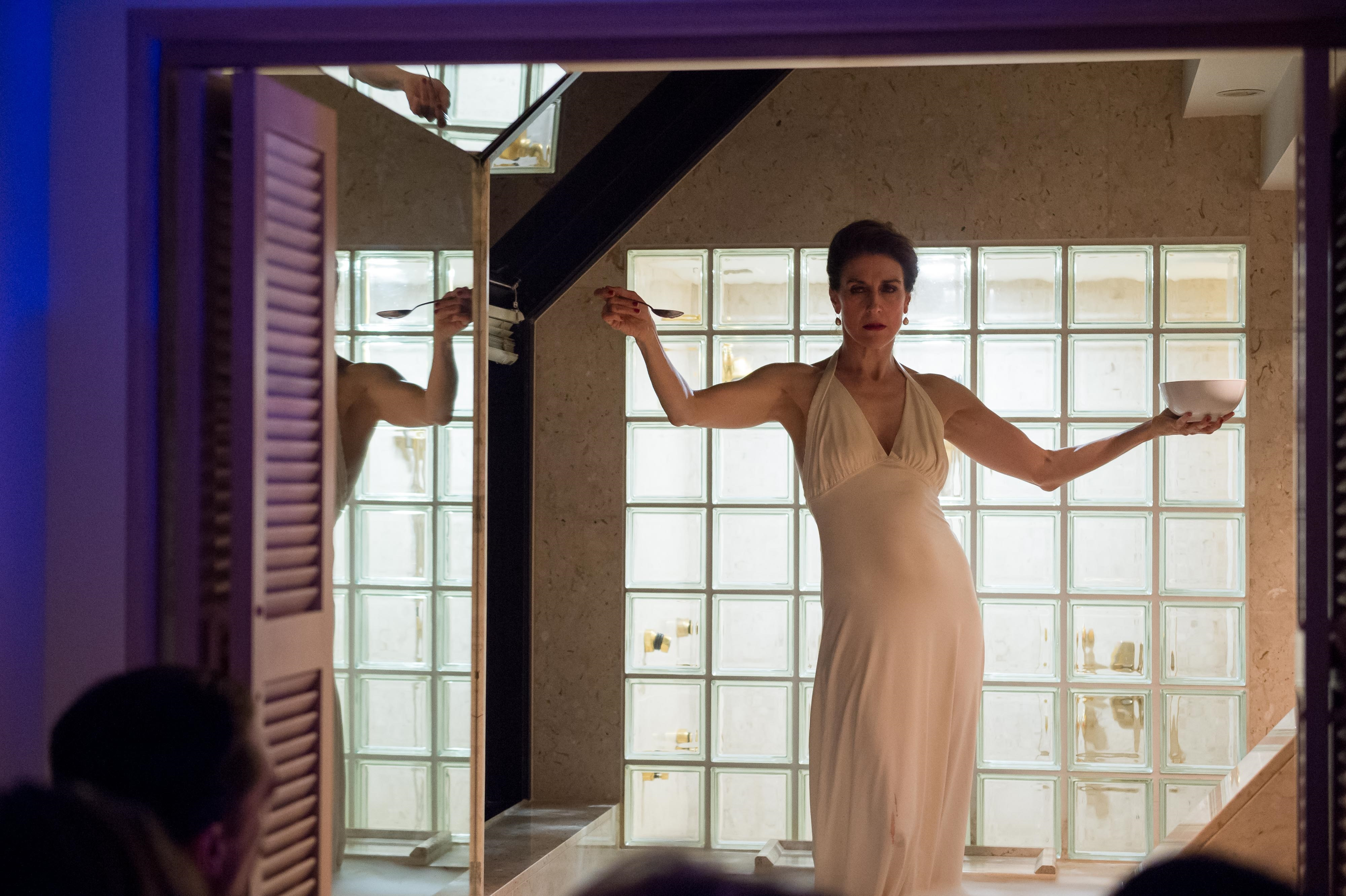 Moira Finucane closing the night in QT's penthouse   Image supplied