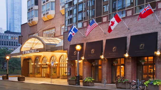 Hotel Review The Doubletree By Hilton In Toronto Canada